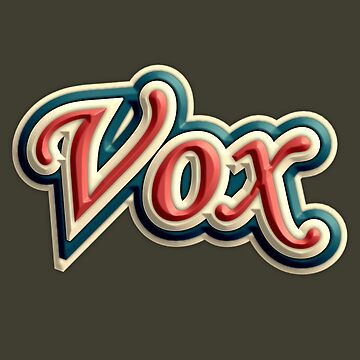 Vintage Colorful Vox by felinson