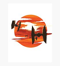 Ride of the Tie fighters Photographic Print