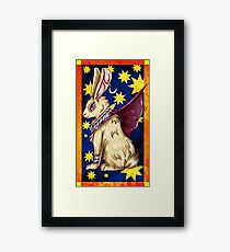 Mystic Rabbit  Framed Print