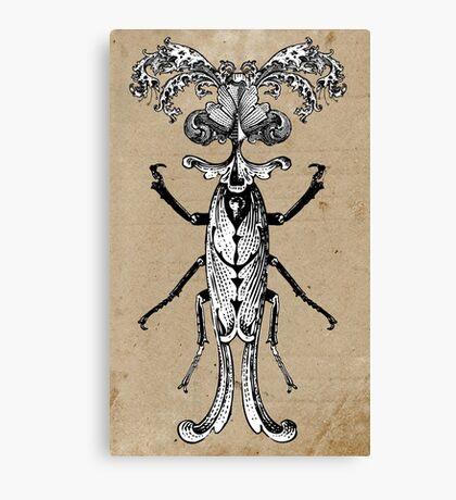 The Victorian Bug Canvas Print