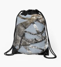Act with Confused Victim Drawstring Bag