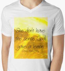 Classic Movie Quote Men's V-Neck T-Shirt