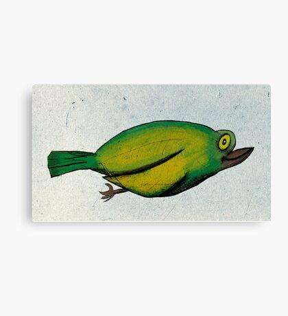 Birdy Num Nums Canvas Print