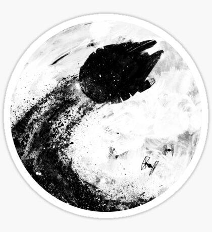 Midnight Awakening Sticker