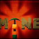 Minecraft propaganda poster by samdesigns
