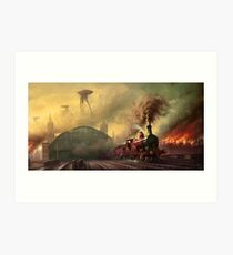 The fall of London Art Print