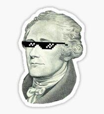 Thug Hamilton Sticker
