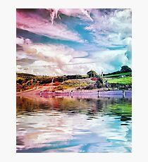 Rainbow Farm Photographic Print