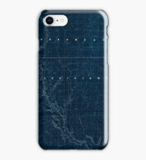 Civil War Maps 2120 Map of the Red River campaign March 10-May 22 1864 Inverted iPhone Case/Skin