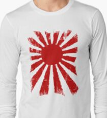 Japan Rising Sun Long Sleeve T-Shirt