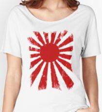 Japan Rising Sun Women's Relaxed Fit T-Shirt