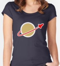 Lego Space! Women's Fitted Scoop T-Shirt