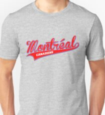 Montreal red script T-Shirt