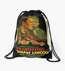 Movie Poster Merchandise Drawstring Bag