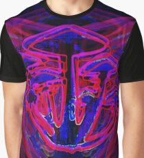 Neon Shrooms Graphic T-Shirt
