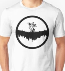 Urban Faun - Black on White Unisex T-Shirt