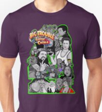 Big Trouble in Little China character collage  T-Shirt