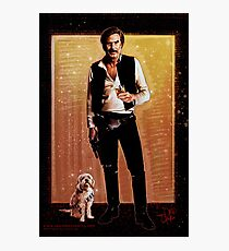 Ron Burgundy Han Solo Photographic Print