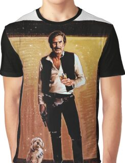 Ron Burgundy Han Solo Graphic T-Shirt