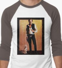 Ron Burgundy Han Solo Men's Baseball ¾ T-Shirt