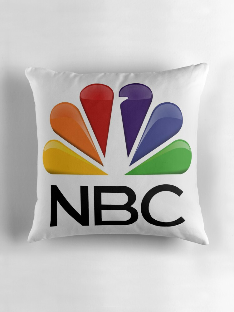 Quot Nbc Logo Quot Throw Pillows By Harrisonbrowne Redbubble