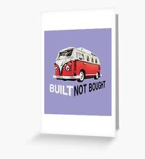 Volkswagen 4 Greeting Card