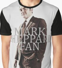 Mark Sheppard Fan Graphic T-Shirt