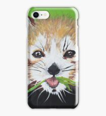 Seeing Red (Panda) iPhone Case/Skin