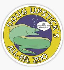 Doug Lipstick's All-Eel Zoo Sticker