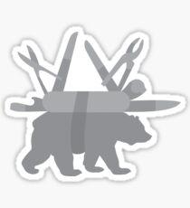 Bear Grylls Knife Sticker