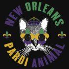 New Orleans Pardi Animal (Mardi Gras) by StudioBlack