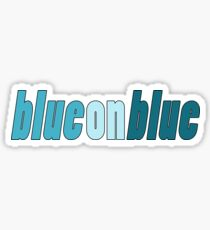 Blue on Blue Pride Sticker
