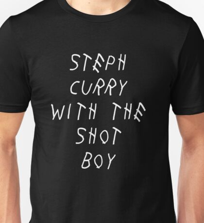 Curry Drake Shot (White) Unisex T-Shirt