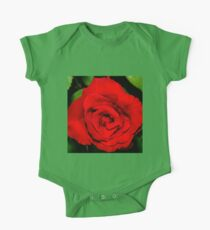 Star-shaped rose One Piece - Short Sleeve