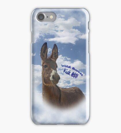 Wild Burros Kick iPhone Case/Skin