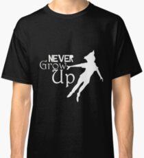 Neverland Never Grow Up Peter Pan Classic T-Shirt