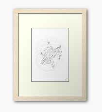0907 - Future Framed Print
