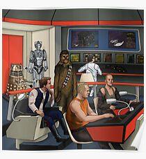 Space Mashup Poster