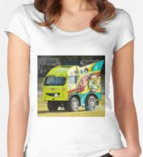 0993 Syco Sam Women's Fitted Scoop T-Shirt