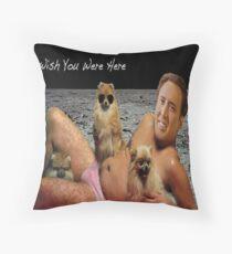 Nick Cage Pillowcase Throw Pillow