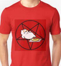 Camiseta unisex Neko Atsume -Evil Tubbs