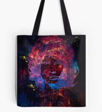 Day destroys the night, night divides the day Tote Bag