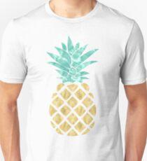 Camiseta ajustada Piña dorada