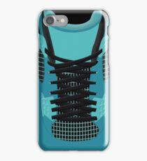 4 teal theme iPhone Case/Skin