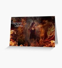 TVD - Elena Greeting Card