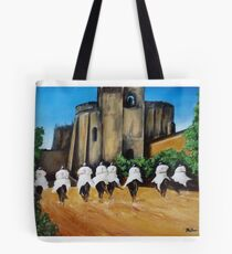 Templar Knights and The Convent of Christ Tote Bag