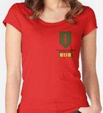 1st Infantry Vietnam Women's Fitted Scoop T-Shirt