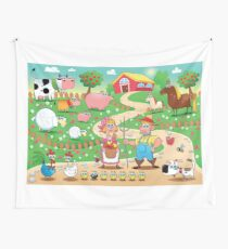Animal farm Wall Tapestry