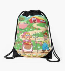Animal farm Drawstring Bag