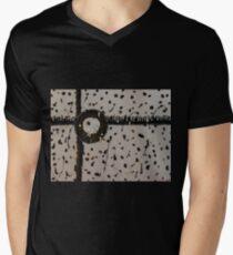 modern Abstract Men's V-Neck T-Shirt